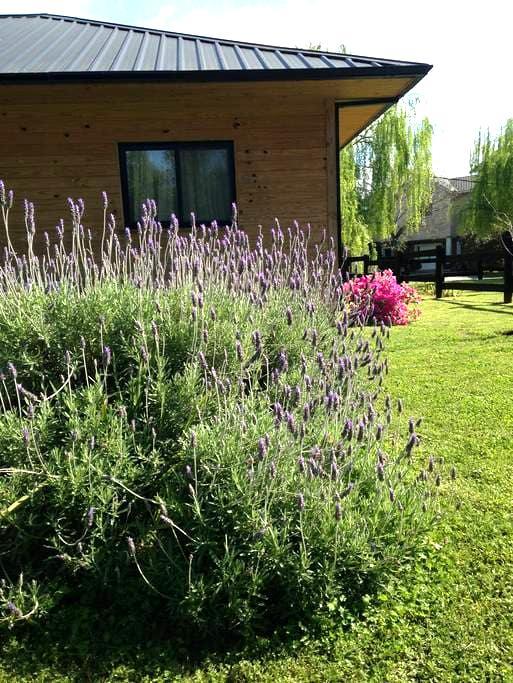 Pilar, confortable casa de campo estilo nórdico - General Rodriguez