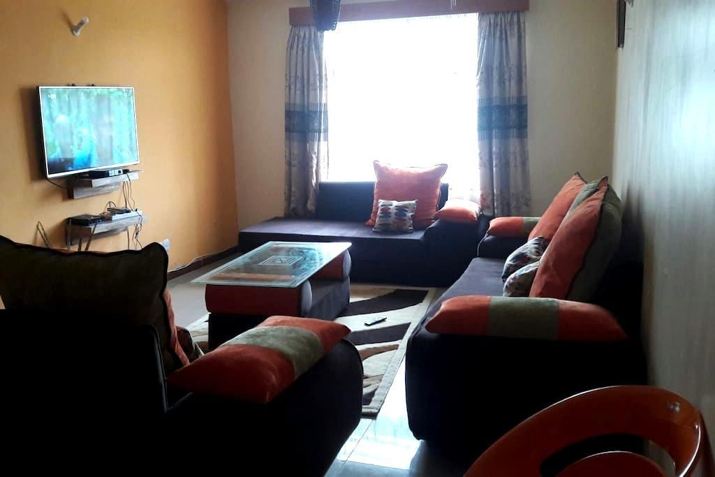 Cosy secure 3 bedroom apartment - Nakuru - Apartamento