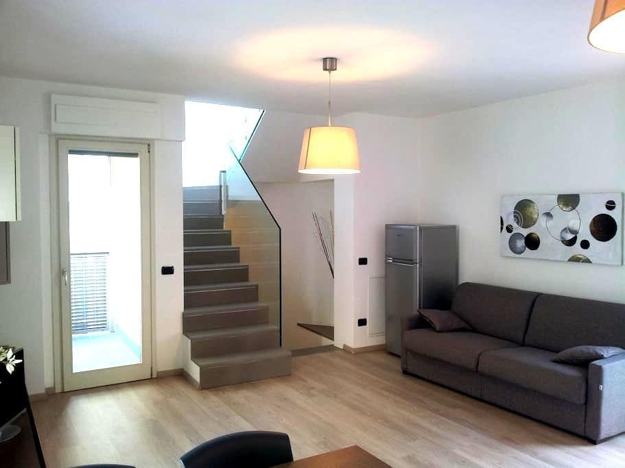 Casa moderna nel pieno centro di Sondrio - Sondrio - Huis