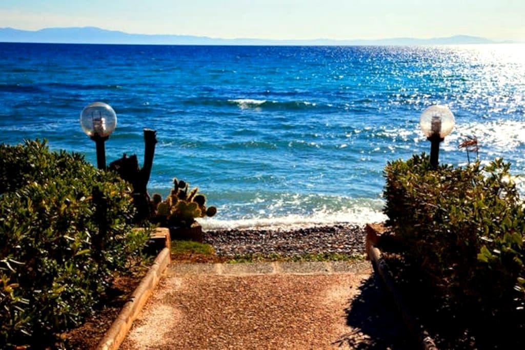 Beautiful seaside villa - Halkidiki - House