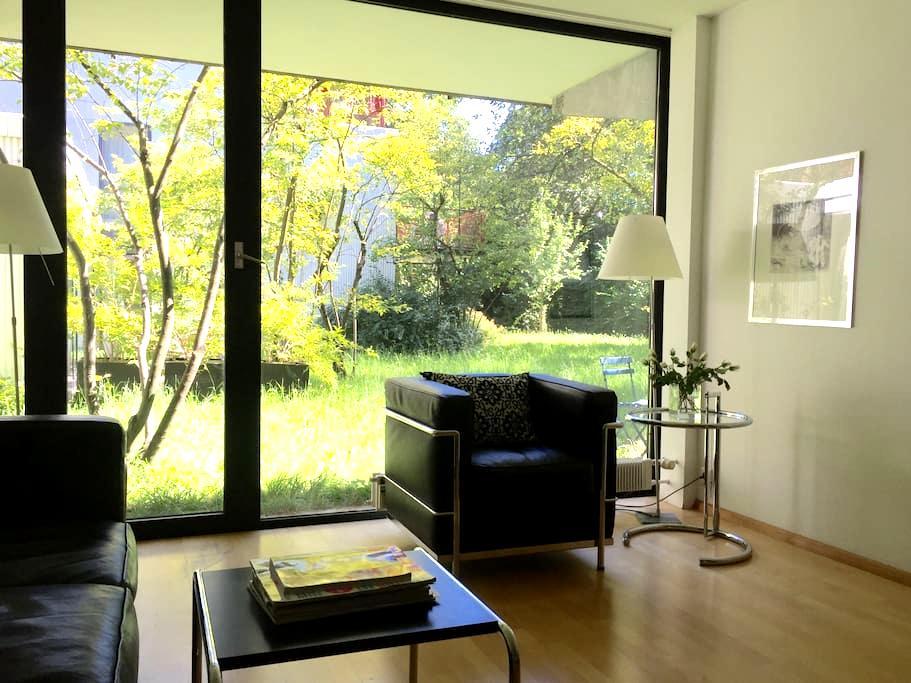 Zentrale Gartenwohnung in Schwabing - München - Apartment