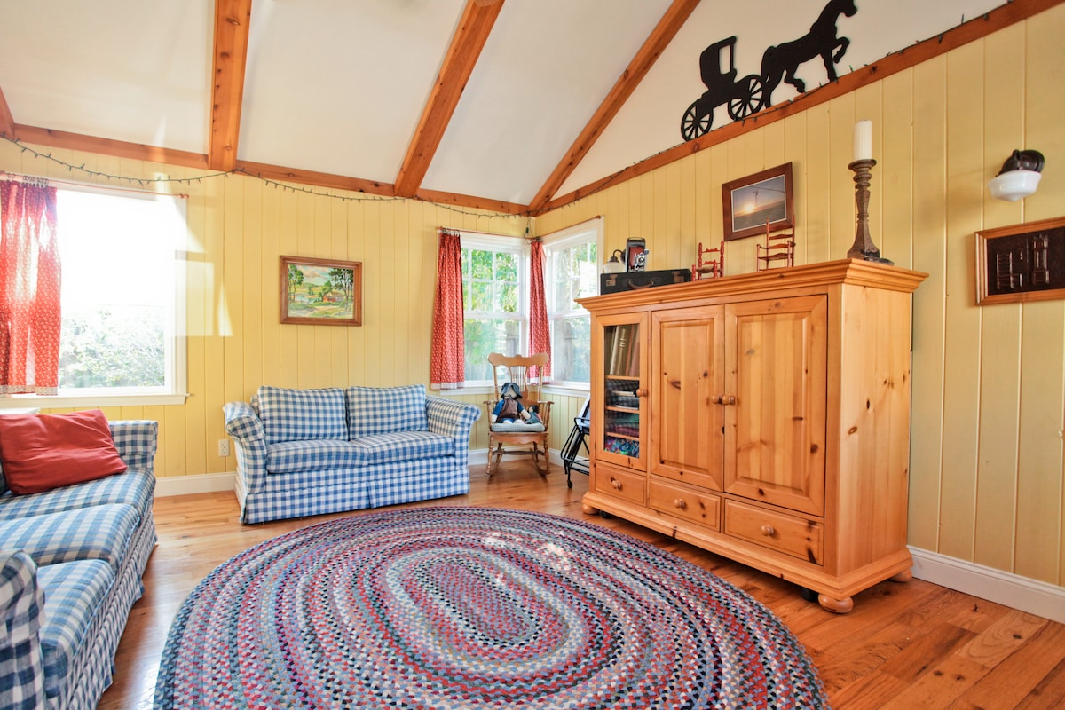 The Family Room, a warm and inviting space.