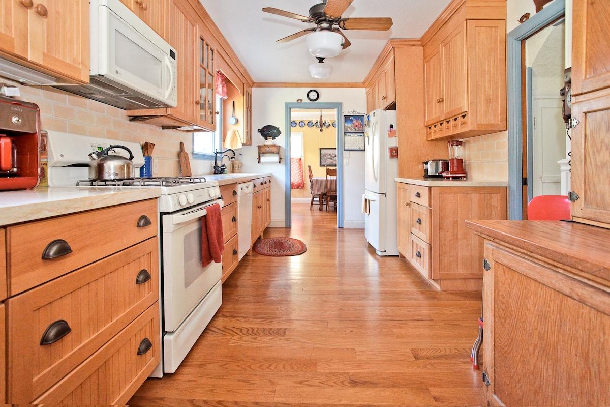 Family kitchen...