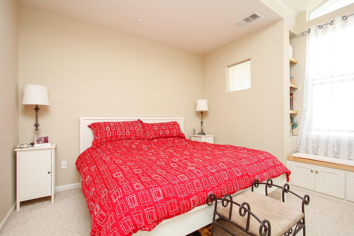 Guest Bedroom in Modern Townhouse