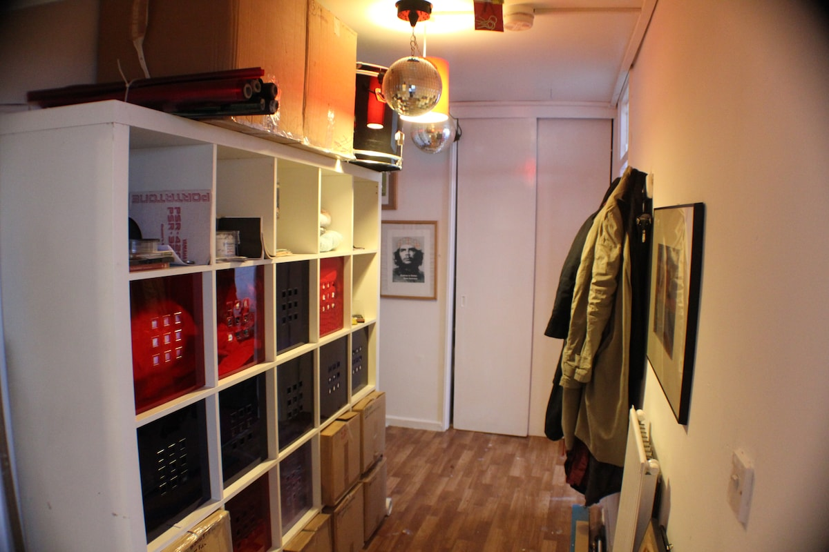hallway / reception area