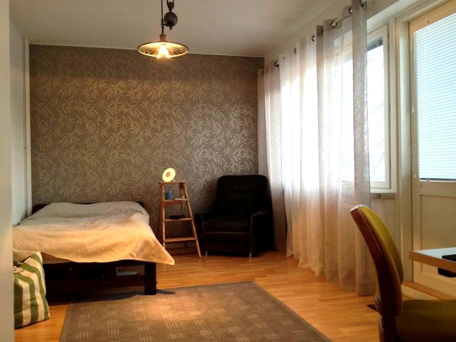 Easy 2-room apartment in Lahti - Lahti - Apartamento