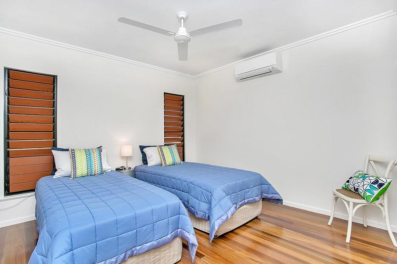 Upstairs Bedroom 2 - 2 x  King Singles or 1 King Bed