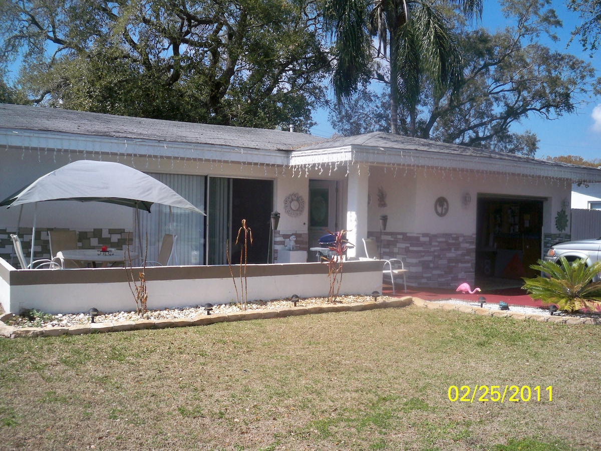 Sunny Clearwater Florida home!