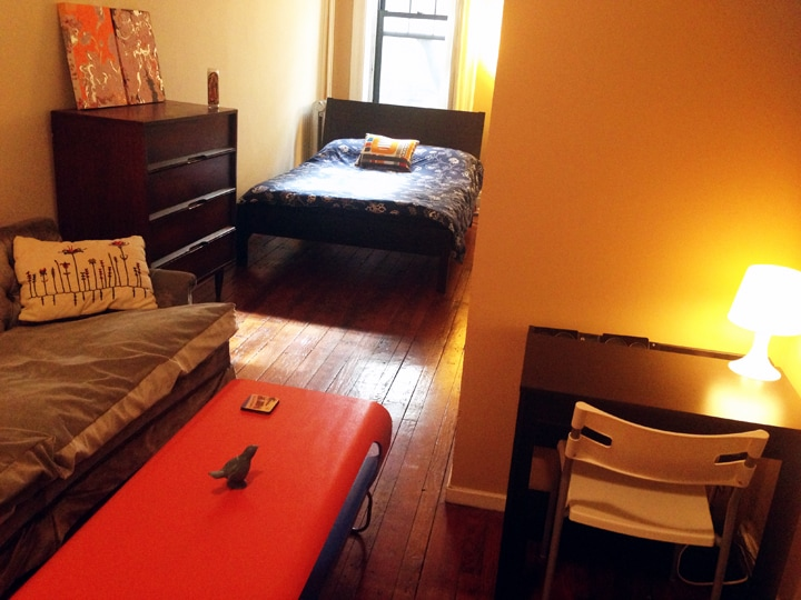 This room is large enough for more than just a bed!