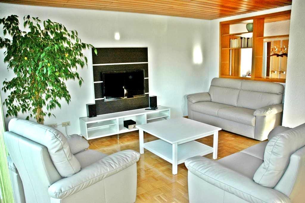 Große Ferienwohnung für 6 Personen, 90qm nahe Rust - Kappel-Grafenhausen - Pis
