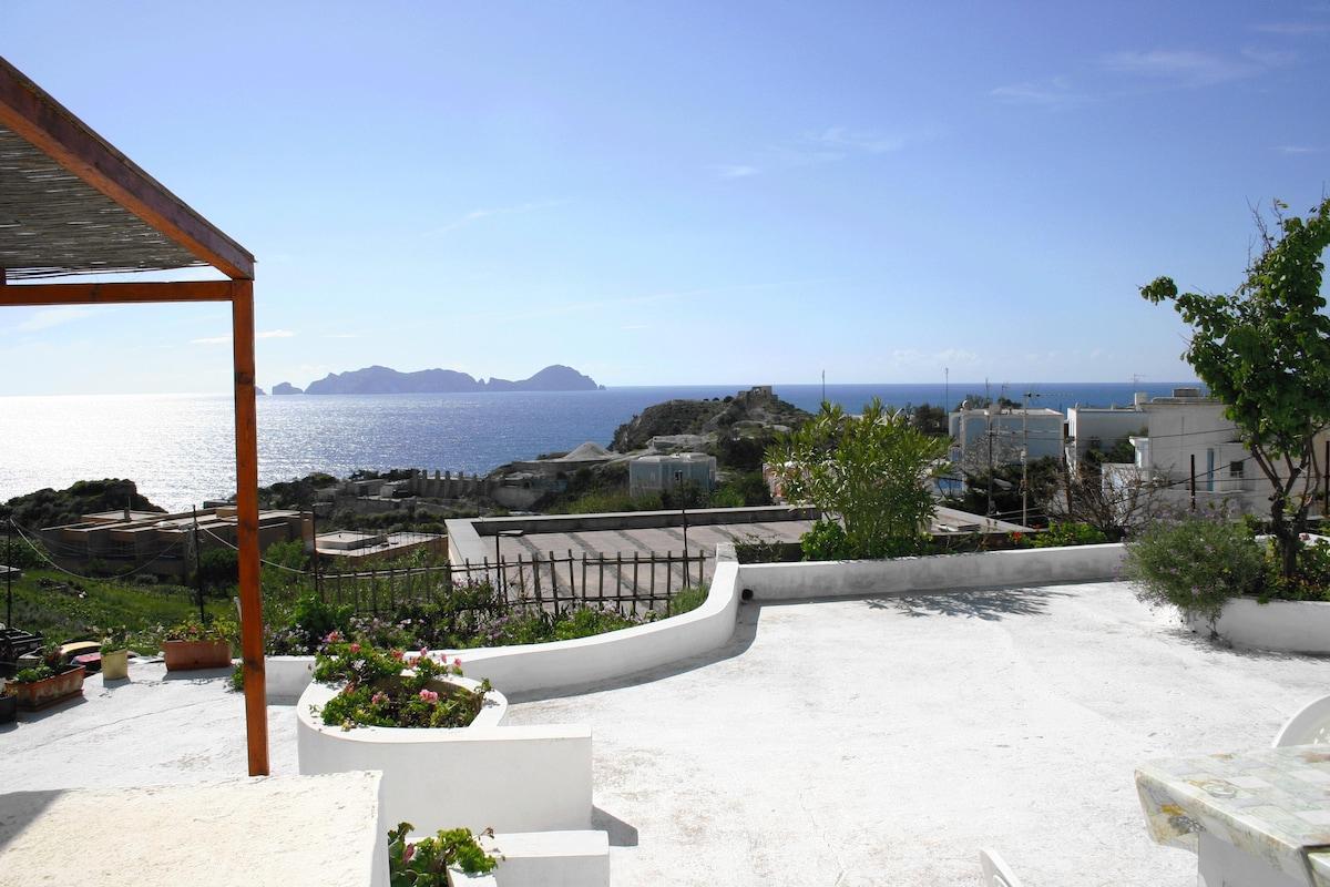 ponza affittasi residence al mare