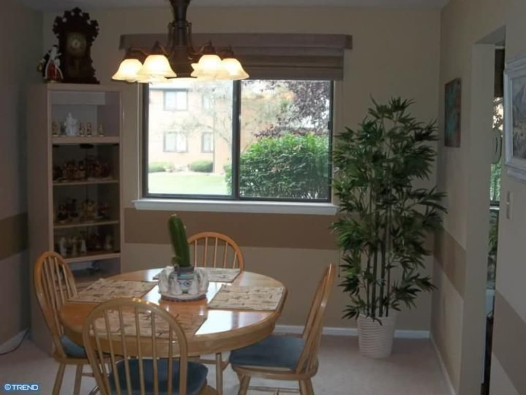 Dining area which is a part of the living area; approximately a total of 30' long.