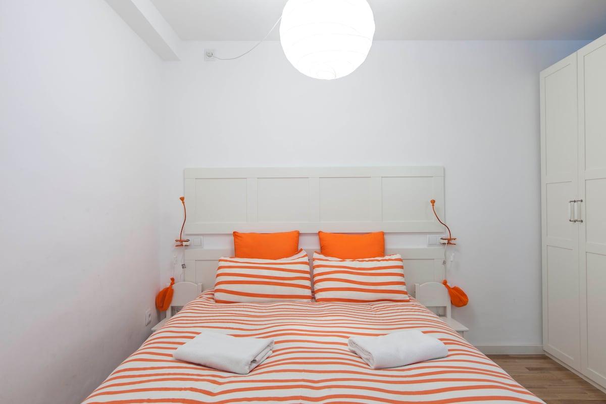 La cama es de 150cm