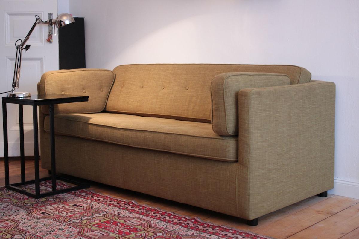 New  Double Sleeping bed- Schlafsofa