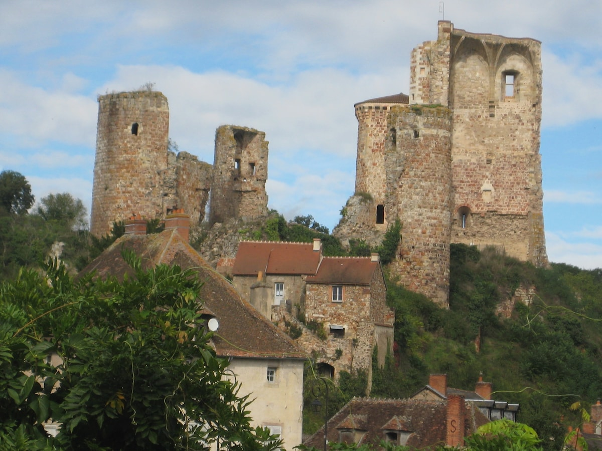 Romantic Medieval Village House
