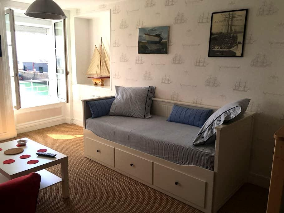 appartement avec vue exeptionnelle sur le port 3 - Granville - อพาร์ทเมนท์