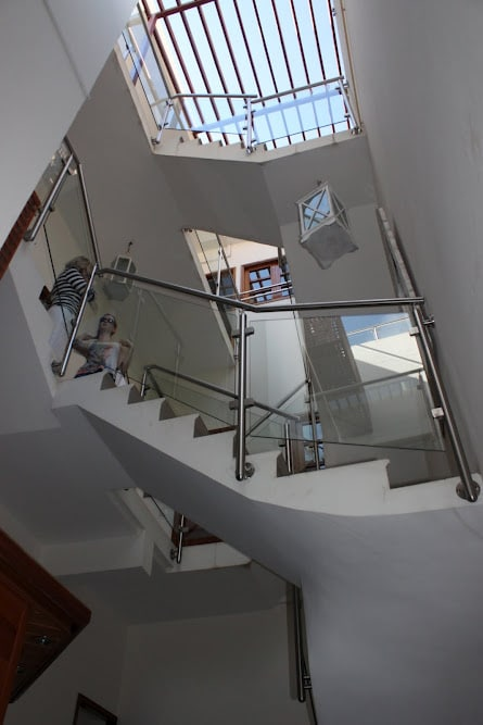 The villa has been newly refurbished into a modern and luxurious three storey house