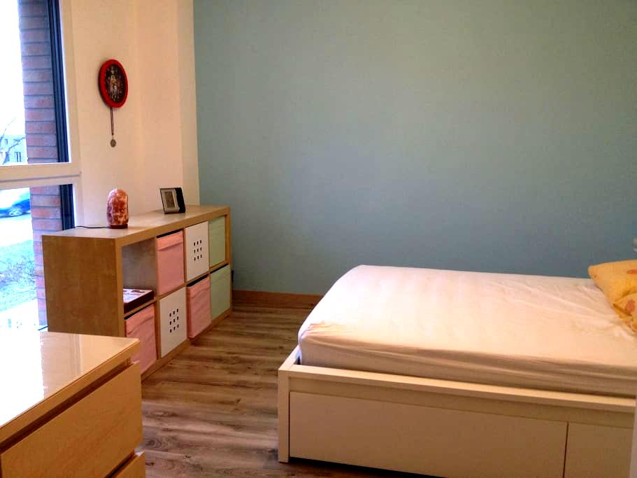 Chambre 1 tt confort aéroport Lille - Lesquin - Ev