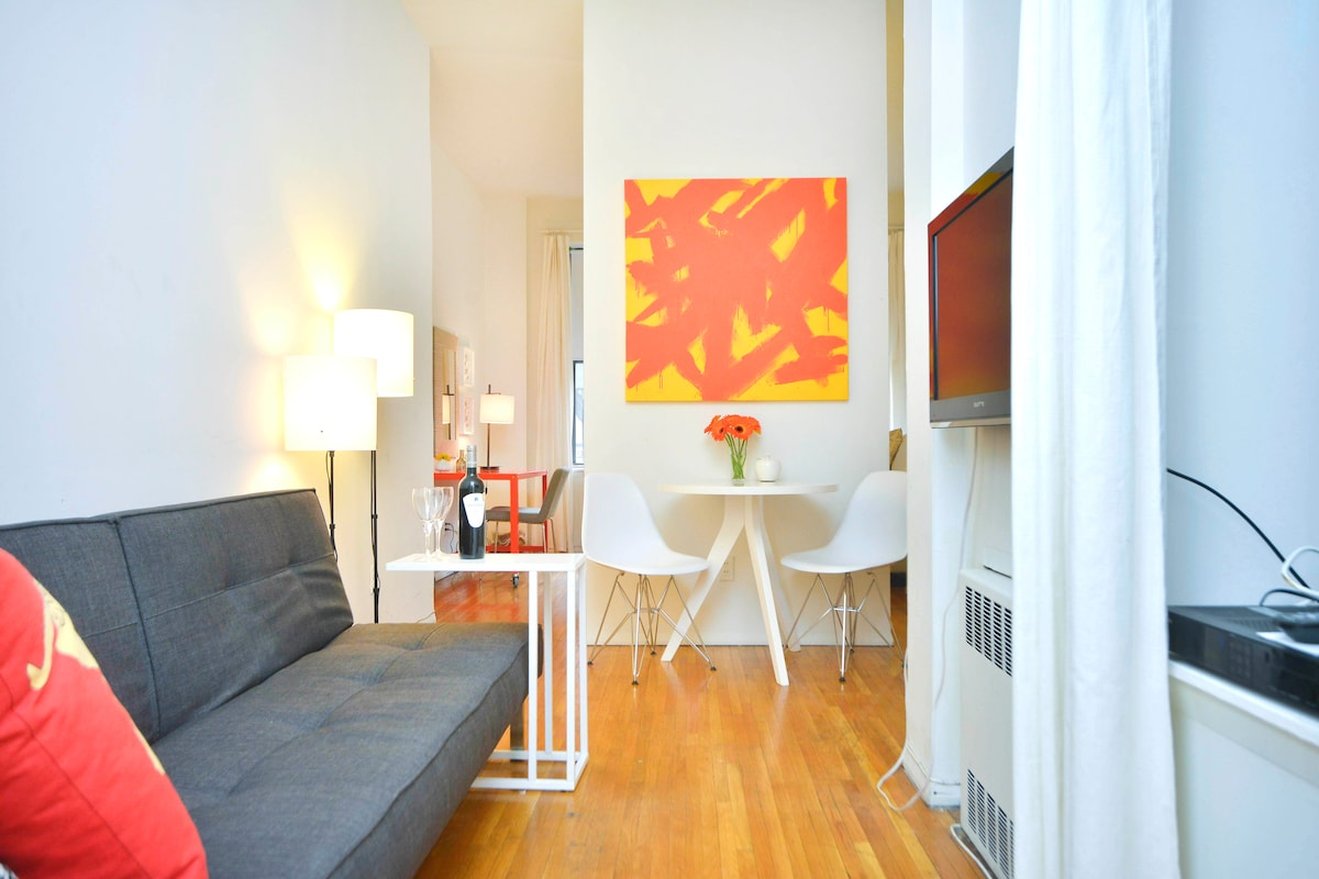 Charming Designer Suite in Midtown