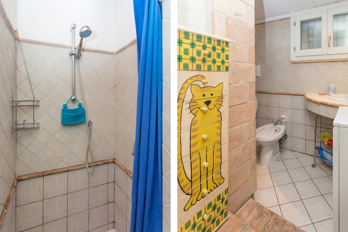 La stanza da bagno