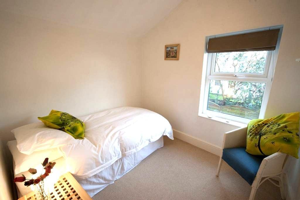 Lovely and light single room - Brístol - Bed & Breakfast