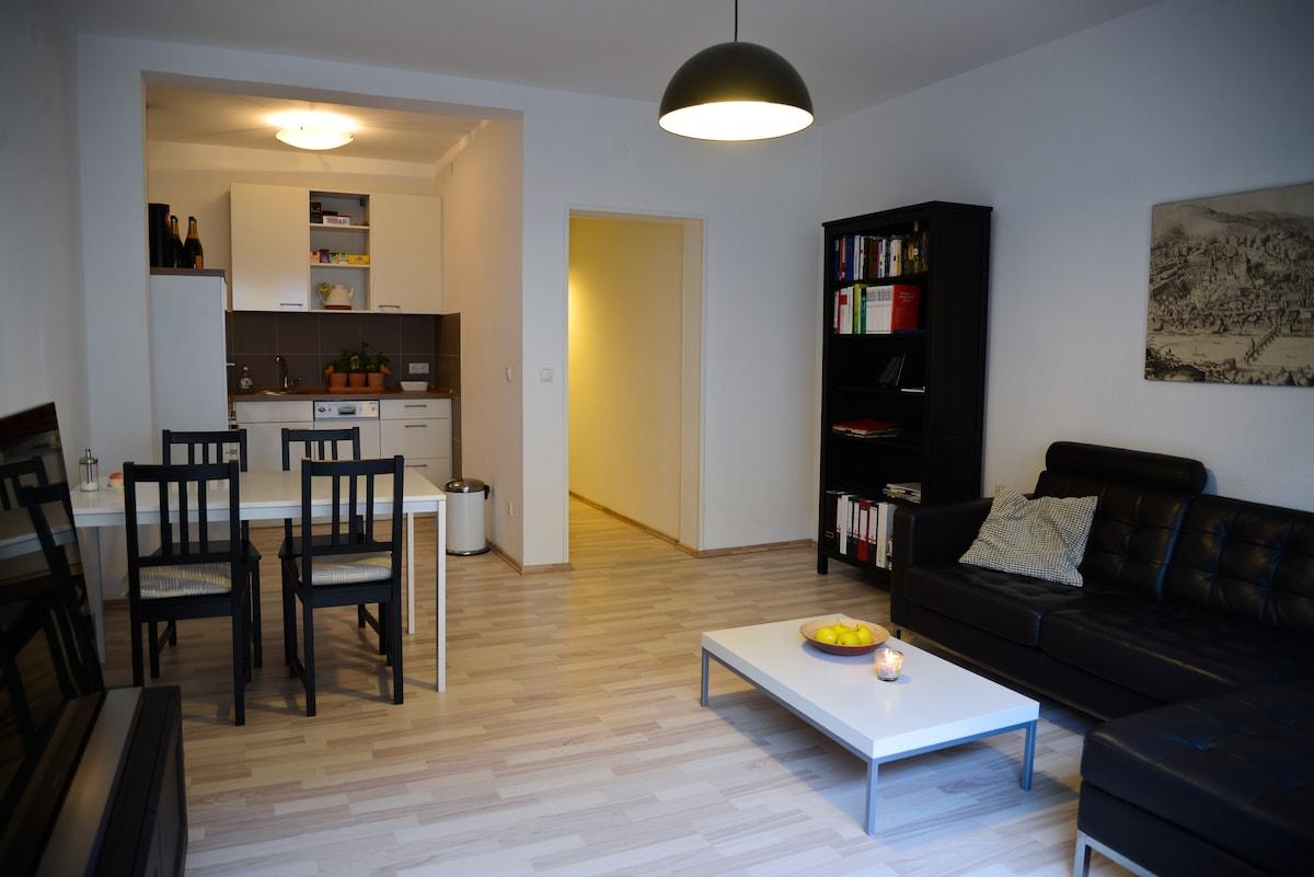 2-Zimmer-Wohnung in bester Citylage
