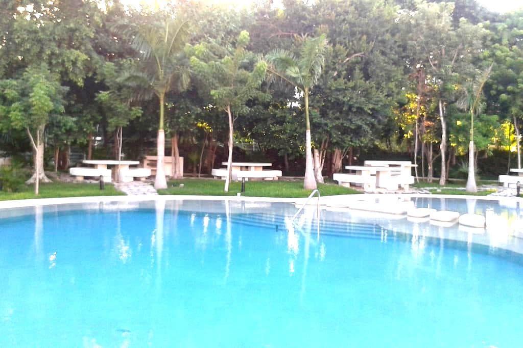 Entire Apartment Serenity & Charm 2Bedroom/2Bathr - Cancún - Apartemen