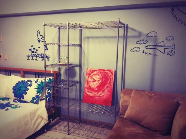 2 bedrooms / kitchen / livingroom