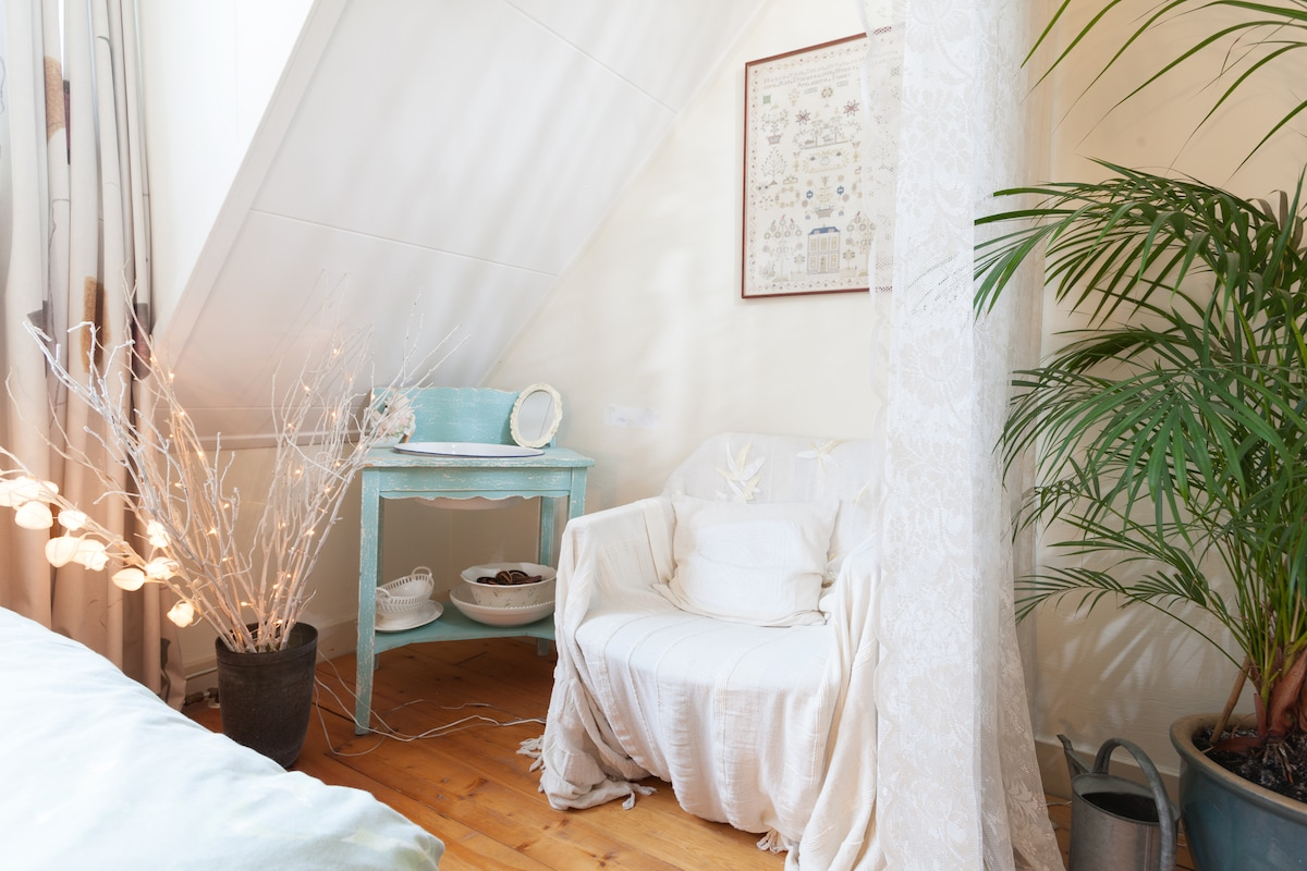 Cosy corner with sitting chair