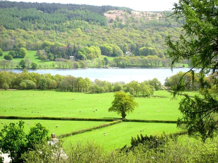 Lake District cottage with lake views - Coniston - Huis