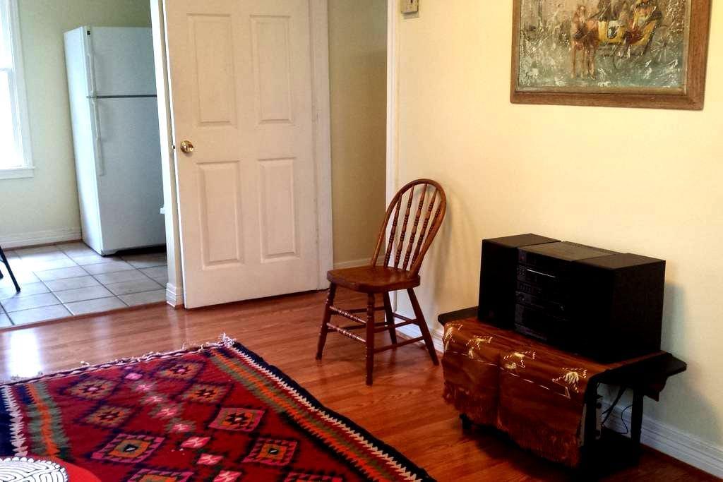 Garage apartment in the Heights - Houston - Apartamento