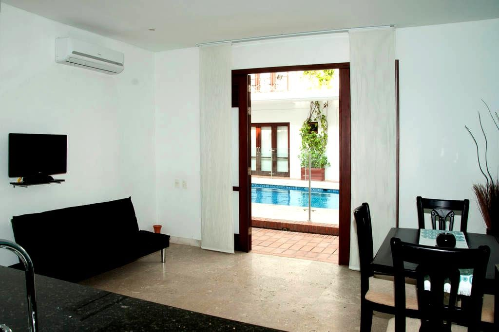 Wonderful 1 Bedroom in the Old City - Cartagena