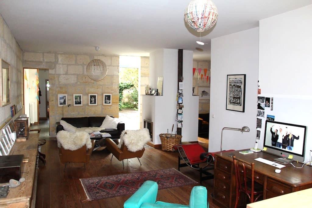 chambre dans maison bordelaise - Bordeaux - Huis