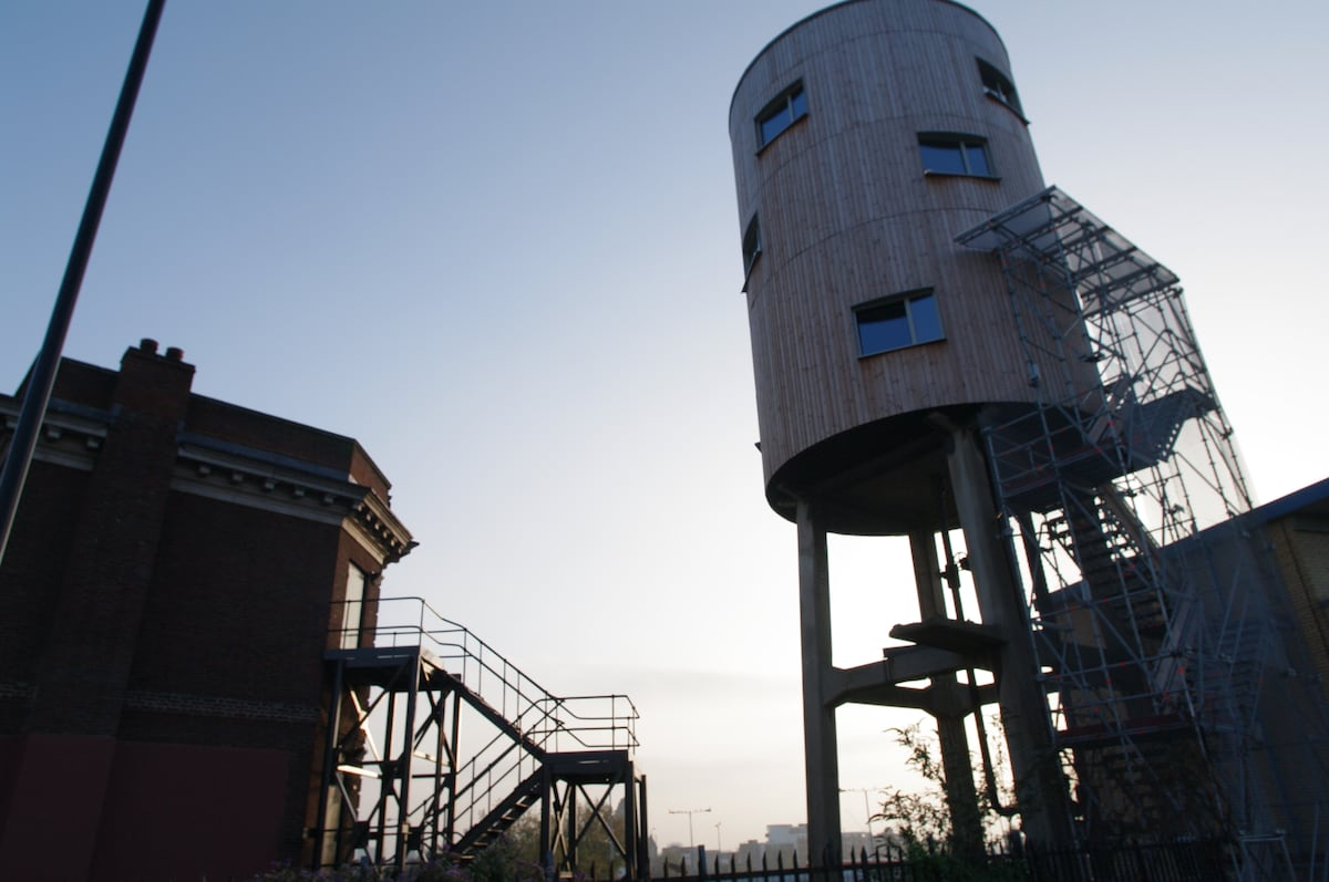 water tower house london