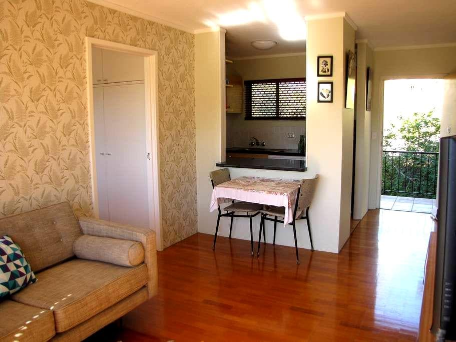 Neat, convenient and central pad - Highgate Hill - Huoneisto