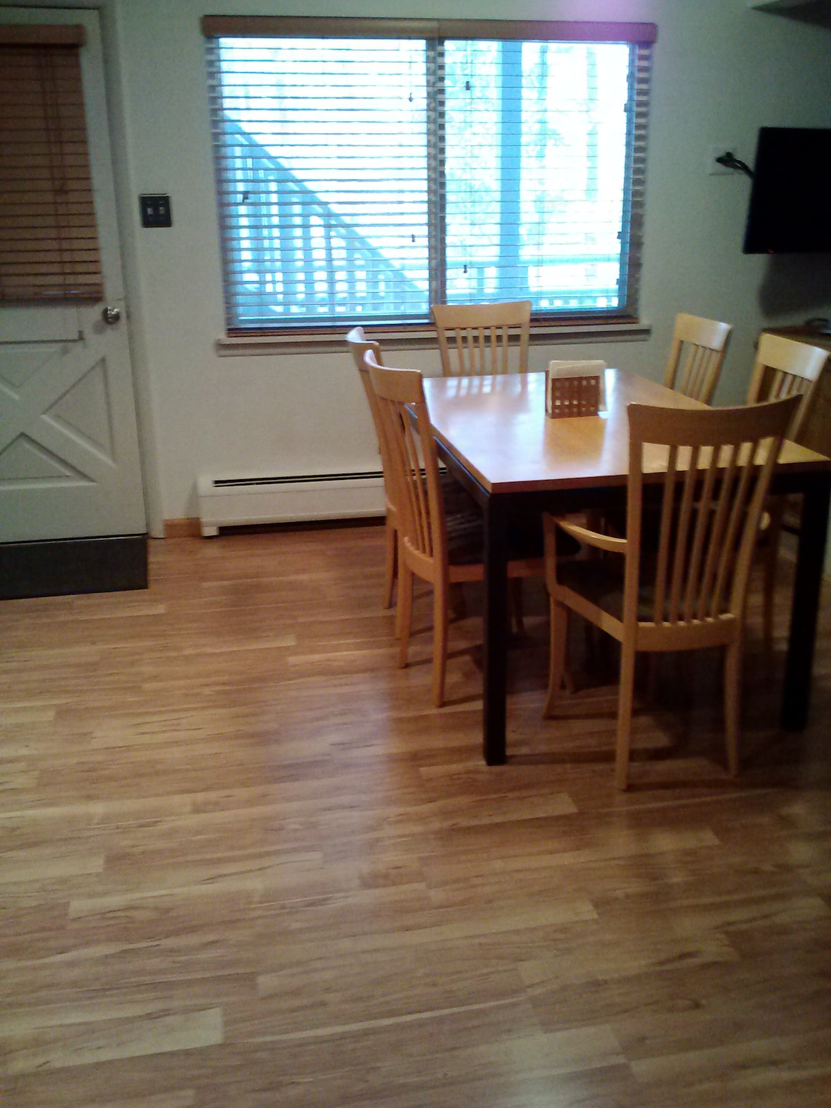Dining Room and Kitchen table