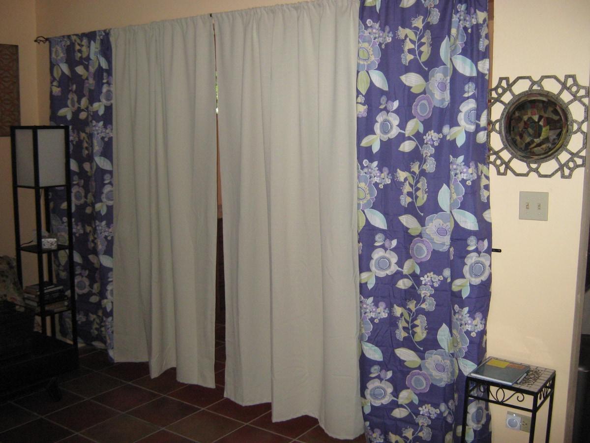 privacy sleeping curtain