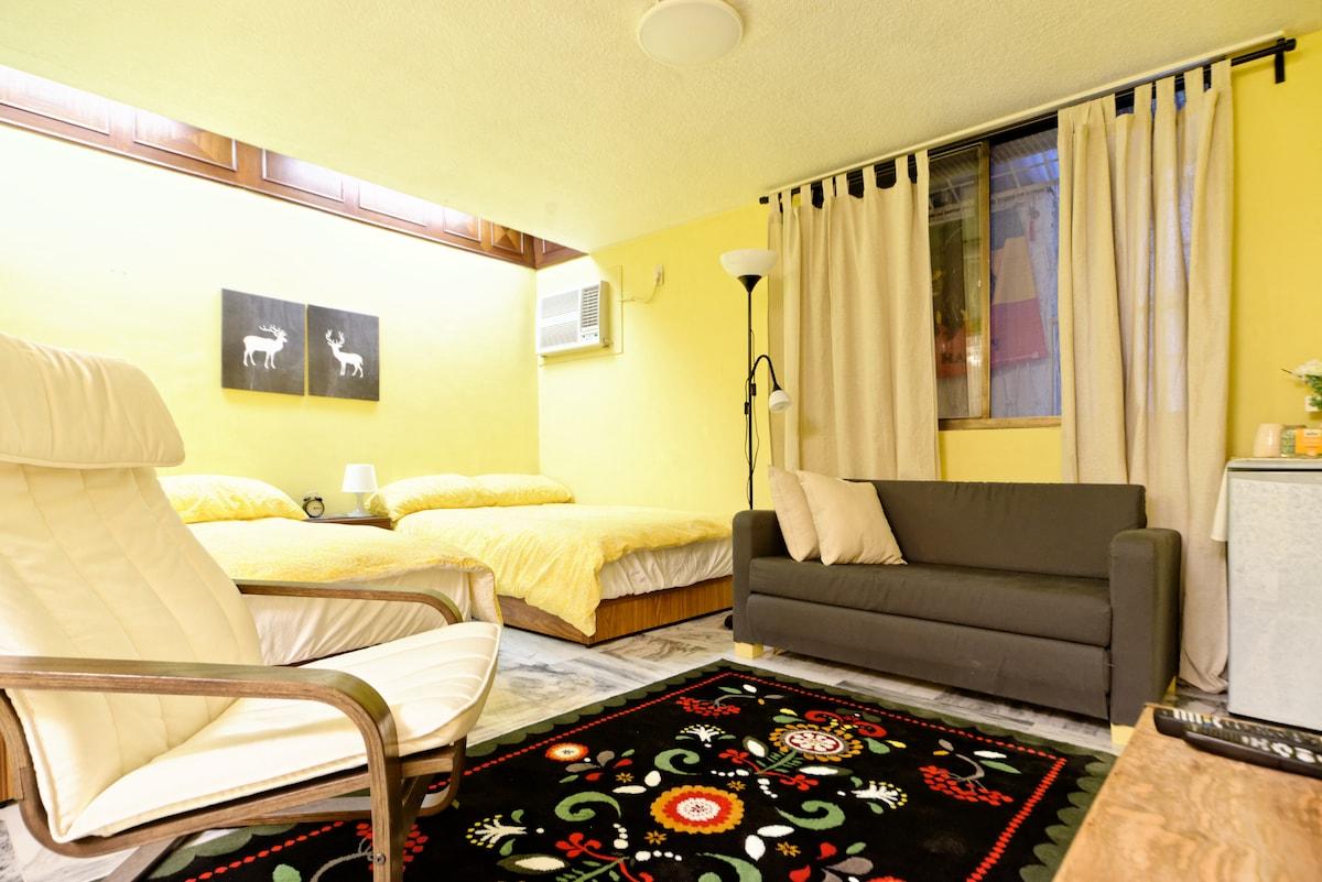 3. Studio Apartment in Ximen MRT