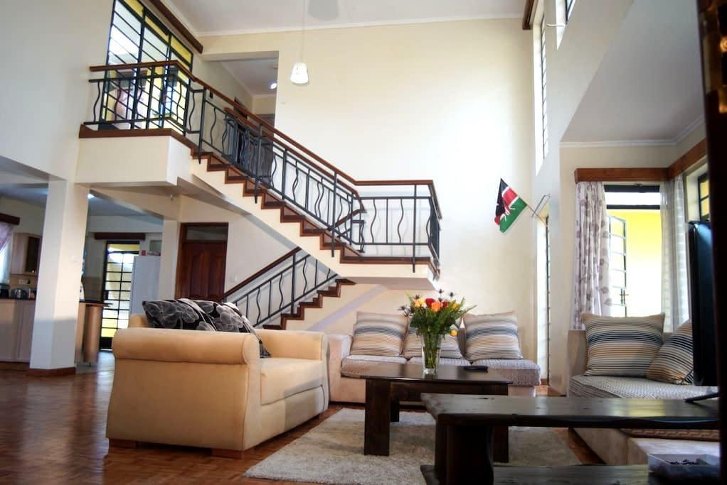 I-PRIVATE ROOM IN DUPLEX PENTHOUSE - Nairobi - Apartmen