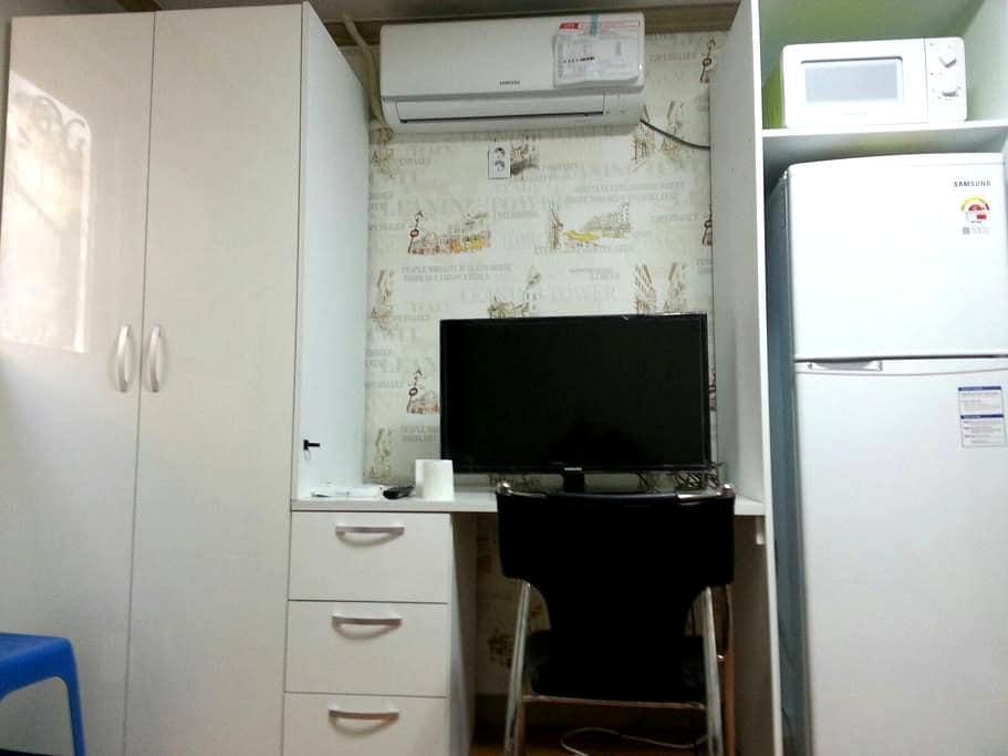 깔끔하고 조용한 대덕테크노밸리 인근 숙소(송강,봉산동) - 대전광역시 - Huis