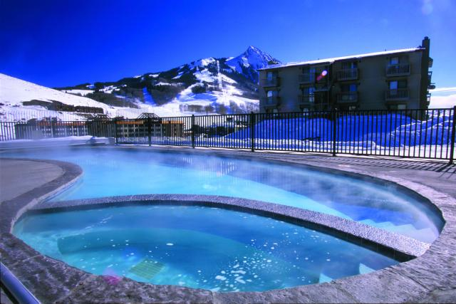 Swimming pool and hot tub - year round