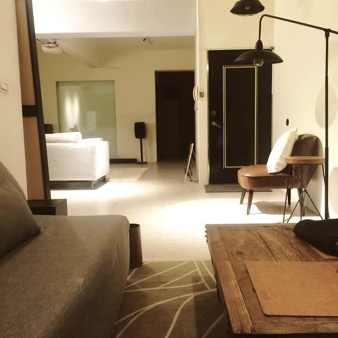 Lovelii 捷運輔大站  開放式空間一房一廳一廚一衛 歡迎租借空間 - 新莊區 - Apartment