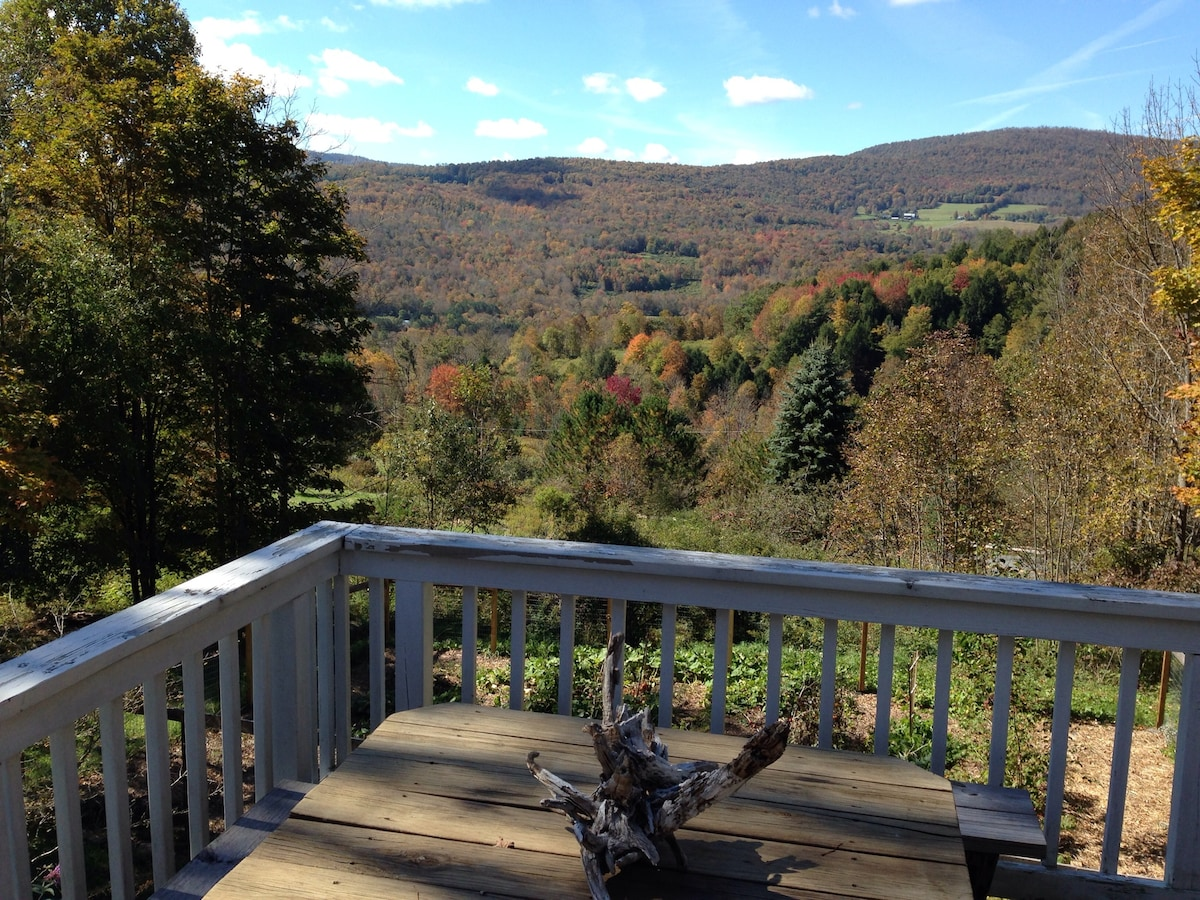 Fall view from front  deck.