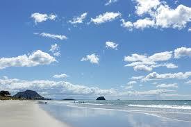 Summer at Mt Maunganui Beach!