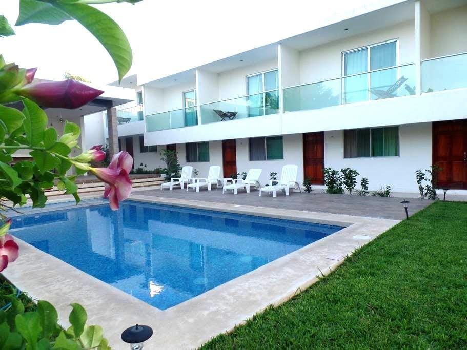 HOTELVILLA ESCONDIDA CAMPECHE - Campeche - Casa de campo