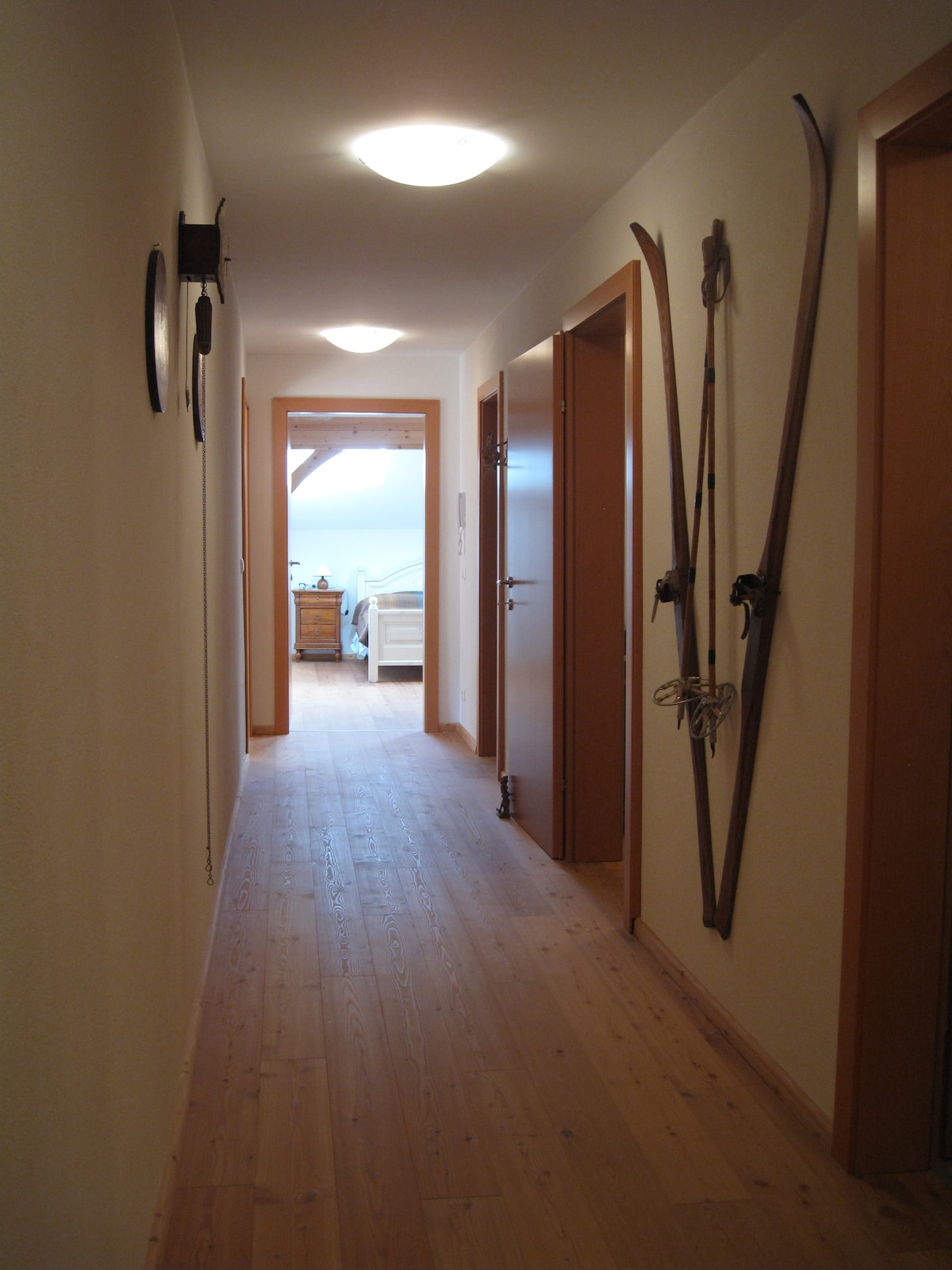 Entrance/Corridor 3 bedrooms with private bathrooms each 1 bathroom 1 bedroom 1 kitchen and living space 1 balcony