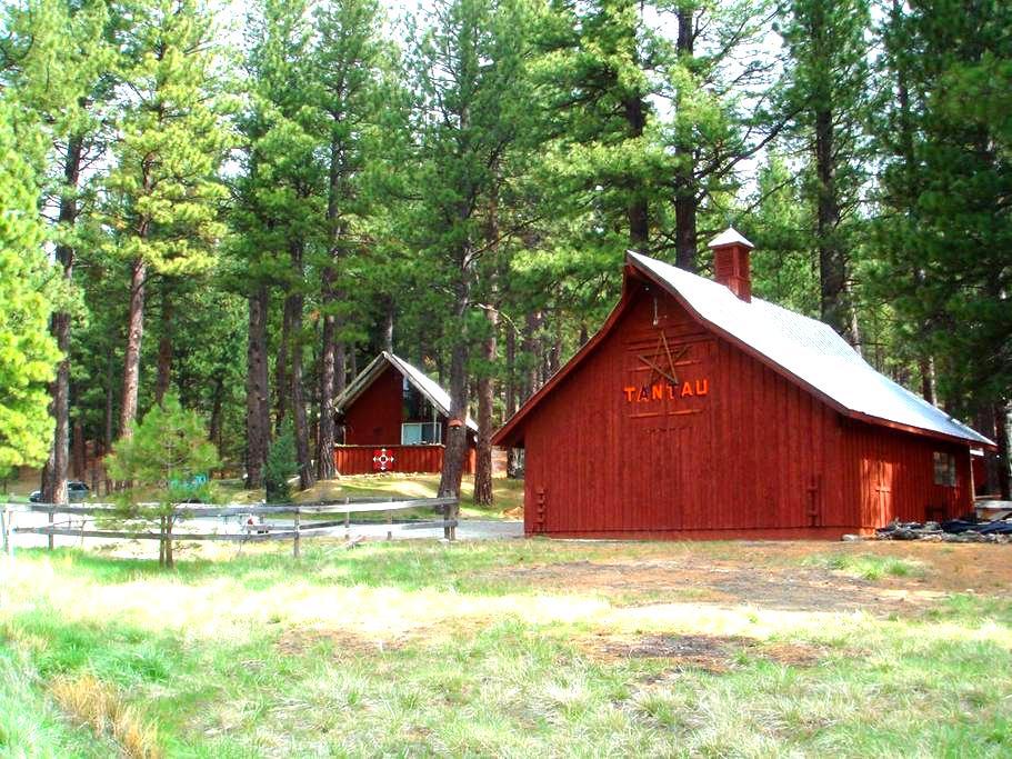 Mohawk Valley view ranch cabin (CA) - Clio - Casa de campo