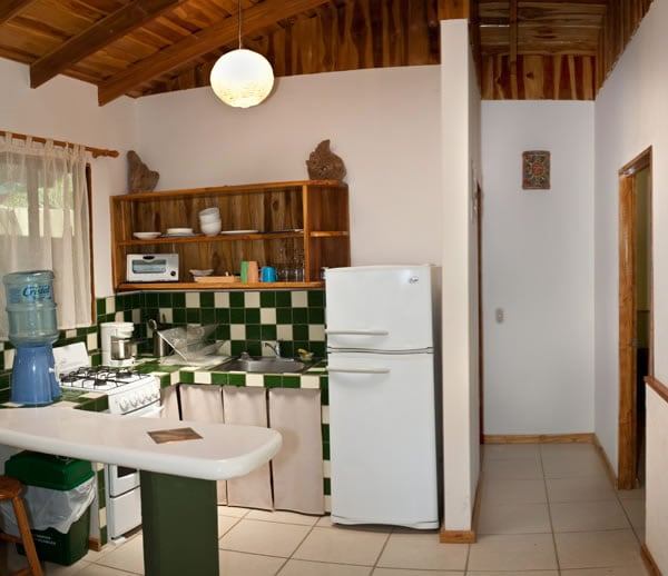 kitchen and hall