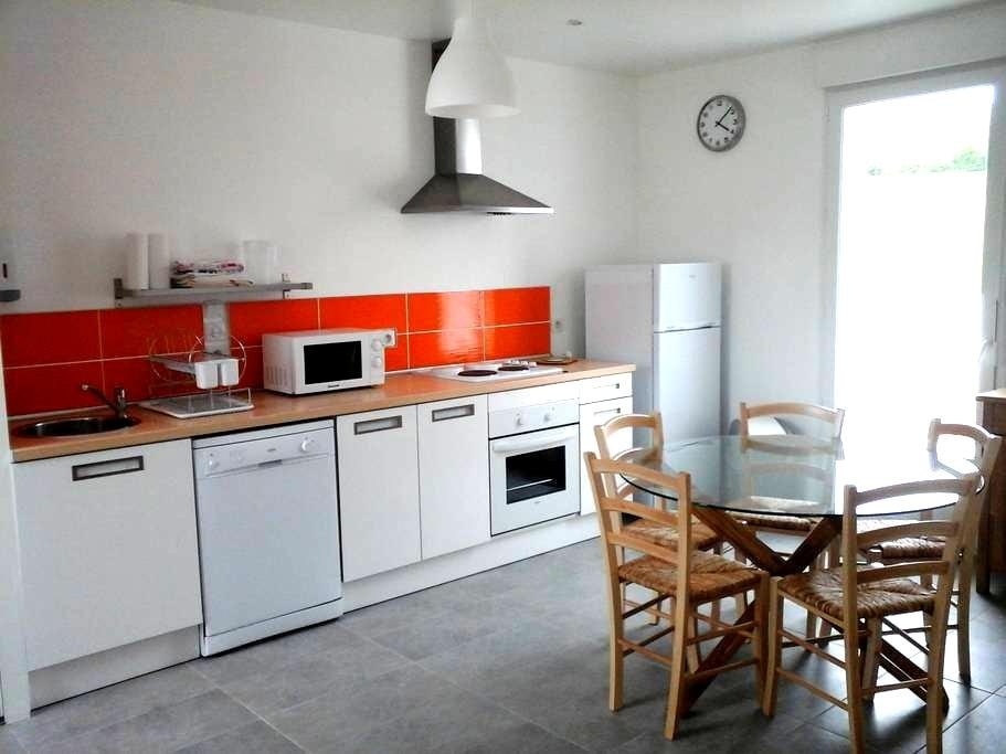 Maison avec un étage, grand terrain - Châtillon-sur-Loire - Rumah