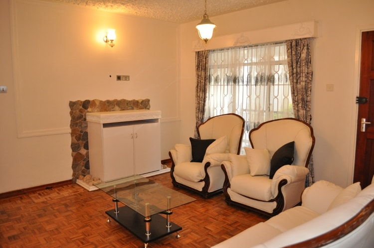 A view of the sitting area on entering the flat.